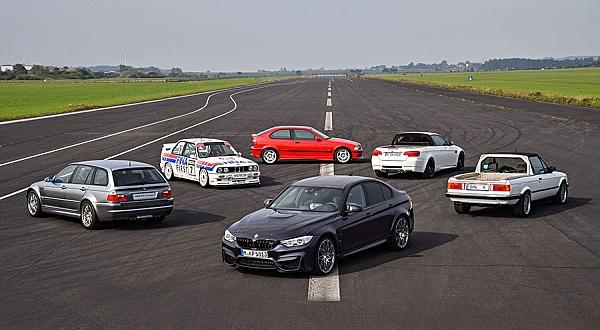 BMW M3'e 30.yıl hediyesi