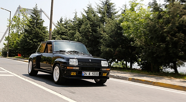 Retro Sürüş - Renault 5 Turbo 2