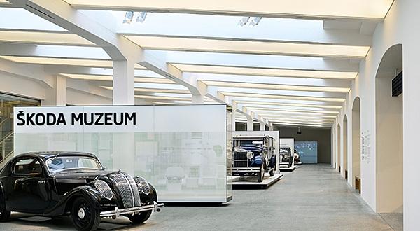 Skoda'nın 120 yıllık tarihi bu müzede