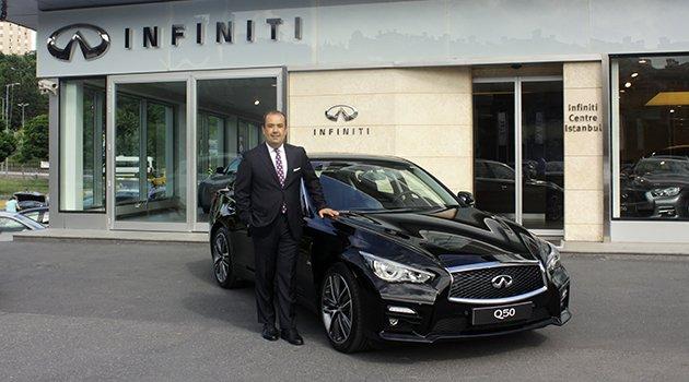 Infiniti Q50 Sport Sedan Türkiye'de