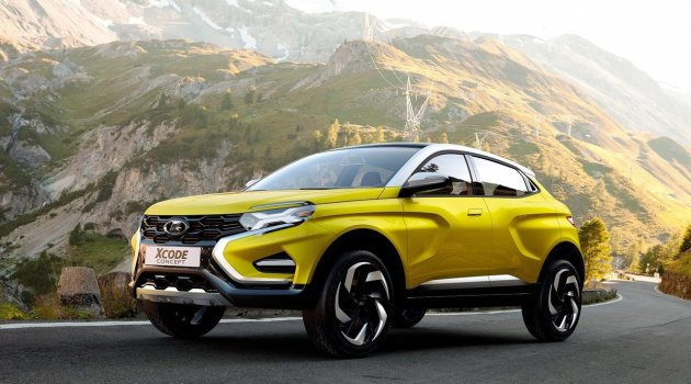 Lada yeni kompakt SUV'unu tanıttı