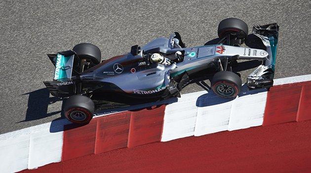 Mercedes AMG Petronas hat-trick yaptı
