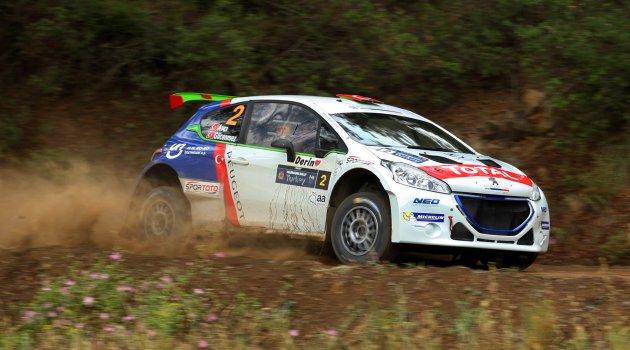 Peugeot 208 T16 ile Bursa'da kazanmak istiyor