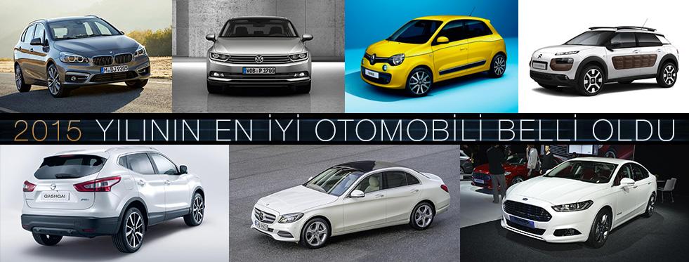 2015 Yılının En İyi Otomobili Belli Oldu