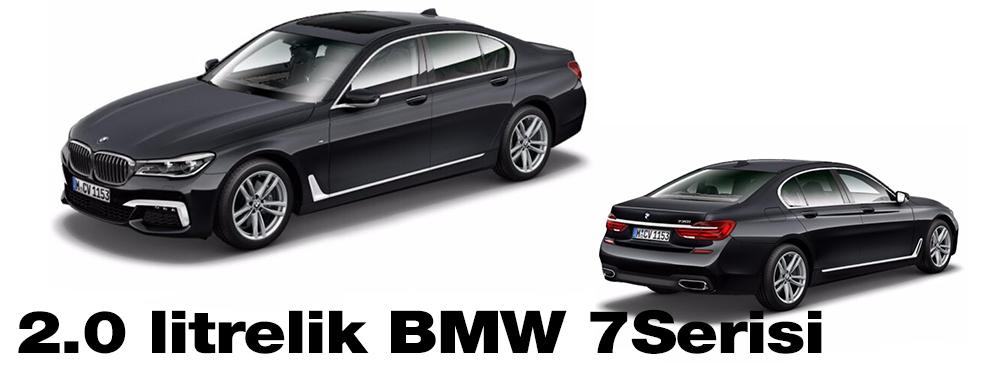 BMW 7 Serisi'ne 2.0 turbo motor