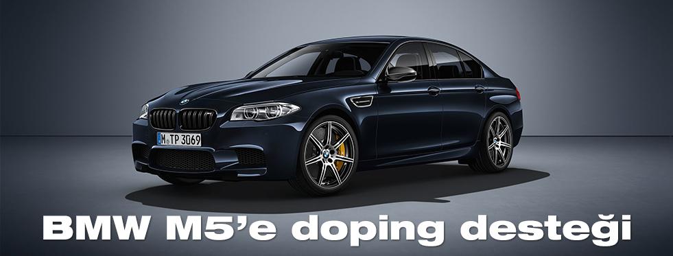 BMW M5'e doping