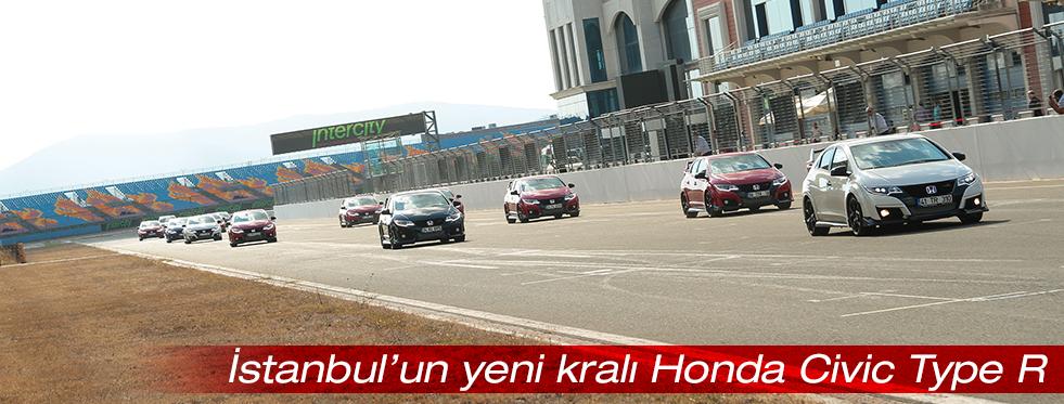 İstanbul Park Pisti'nin yeni rekortmeni Honda Civic Type R