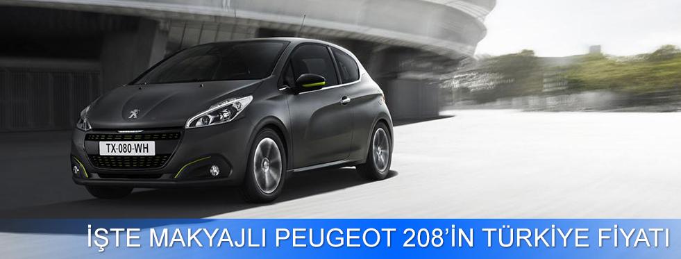Makyajlı Peugeot 208'in Türkiye Fiyatı Açıklandı