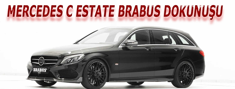 Mercedes C Estate Brabus Dokunuşu