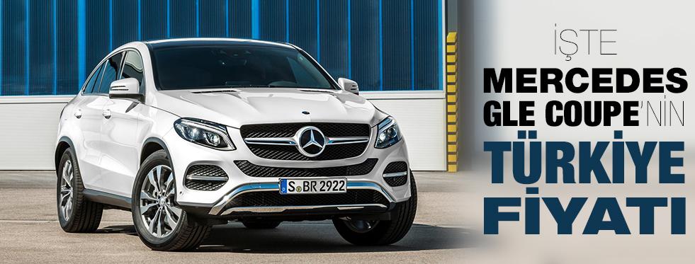Mercedes GLE Coupe'nin Türkiye Fiyatı Açıklandı