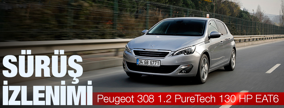 Peugeot 308 1.2 Pure Tech 130 HP EAT6