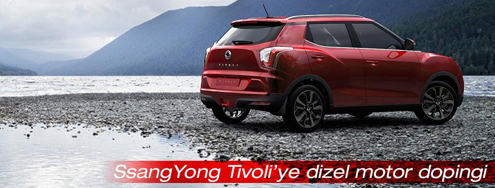 SsangYong Tivoli'ye dizel motor dopingi