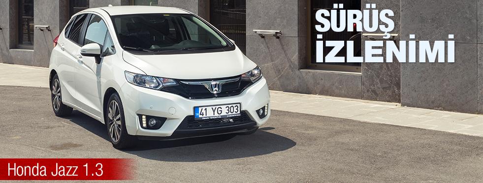 Sürüş İzlenimi – Honda Jazz 1.3