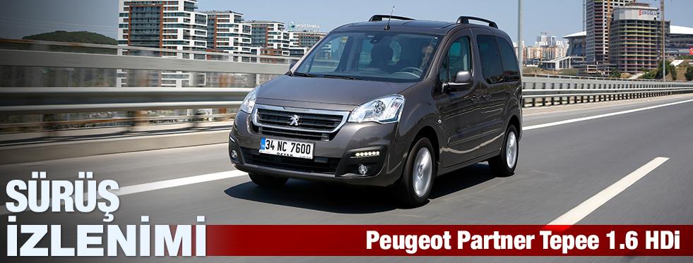 Sürüş İzlenimi:Peugeot Partner Tepee Zenith 1.6 HDi