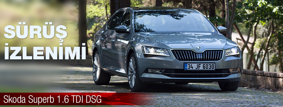 Test - Skoda Superb 1.6 TDI DSG