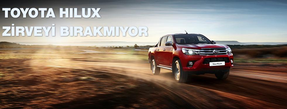 Toyota Hilux 2016'da da zirveyi bırakmıyor