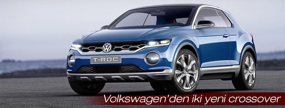 Volkswagen küçük crossover konseptini Cenevre'de tanıtacak