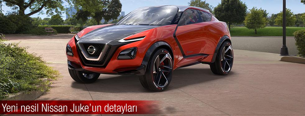 Yeni Nissan Juke'un detayları