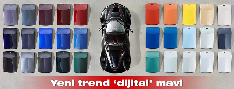 """Yeni trend """"Dijital Mavi"""""""