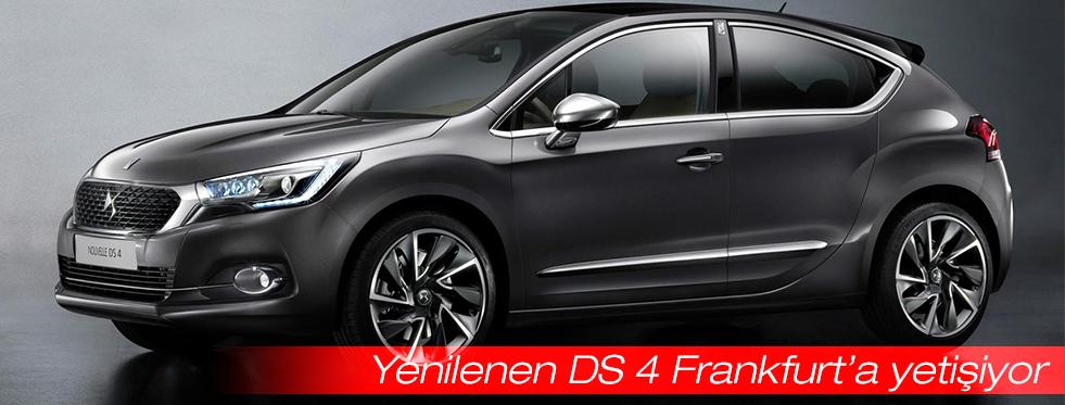 Yenilenen DS 4 Frankfurt'a yetişiyor