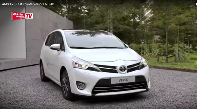 AMS TV -  Test Toyota Verso 1.6 D-4D