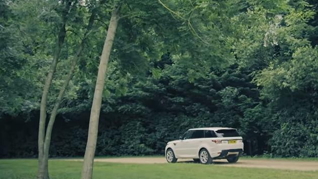 Geleceği gören SUV Range Rover Sport