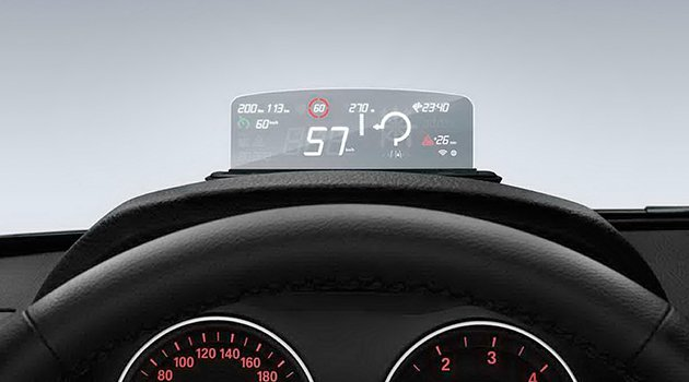 bmw head up display da y zde 20 ndirim auto motor. Black Bedroom Furniture Sets. Home Design Ideas