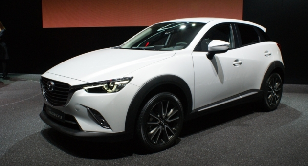 Mazda'dan CX-3 Dört Dörtlük Geliyor