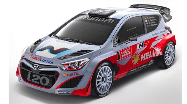 Hyundai i20 WRC İsveç'te