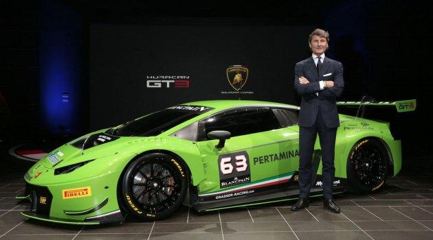 Lamborghini Huracan GT3 Sahneye Çıktı