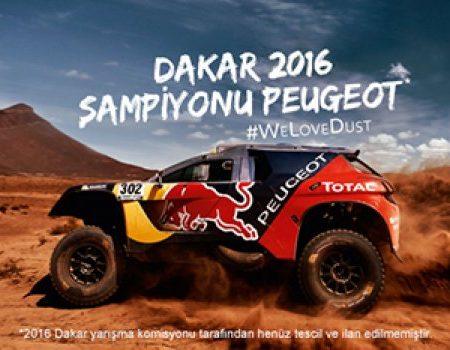 2016 Dakar Rallisi'ni Peugeot kazandı