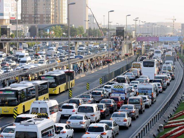 İstanbul trafiği yine birinci oldu