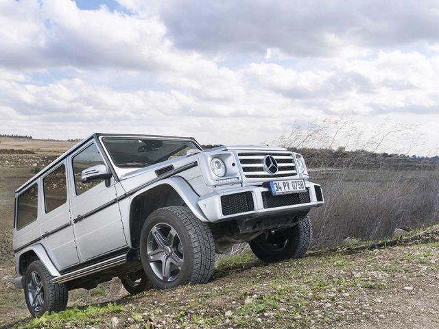 Sürüş İzlenimi – Mercedes G 350 d