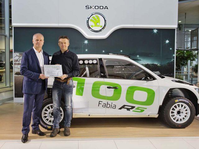 Skoda Fabia R5 100 adetlik satış yakaladı