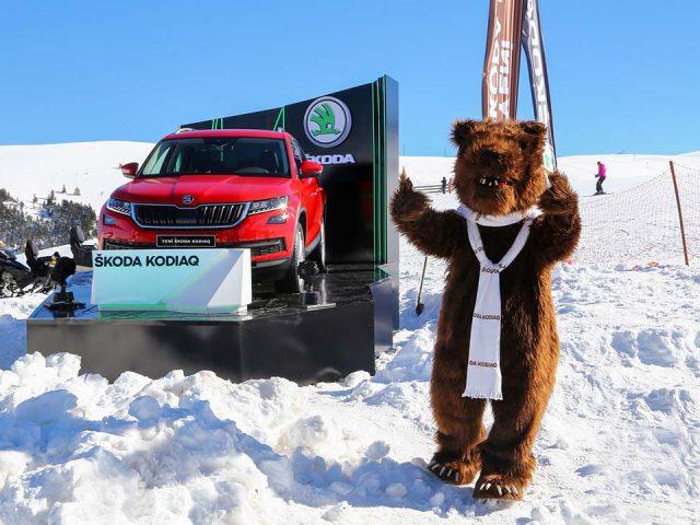 Skoda, Kodiaq ile WhiteFest 2017'nin yıldızı oldu