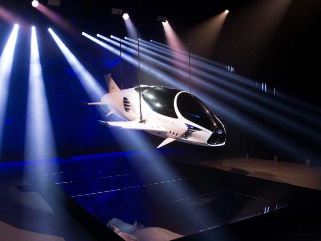 Lexus uzay aracı tasarladı
