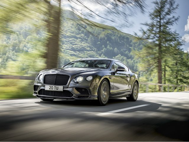 Bentley'in en hızlı modeli: Continental Supersports