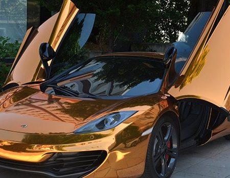 Altın Renkli McLaren sahibinden.com'da
