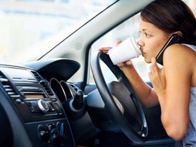 Sürücülerin düşmanı cep telefonları