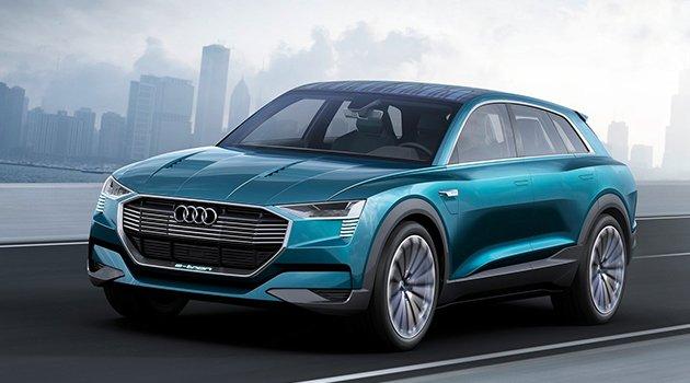 Audi'nin elektrikli geleceği