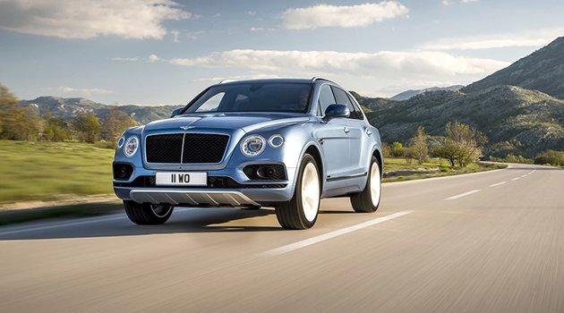Bentley Bentayga'ya dizel motor geliyor