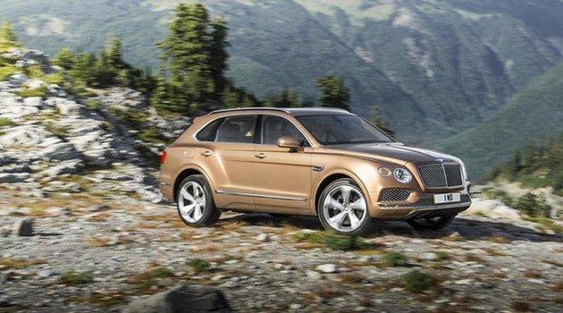Bentley'e dizel motor geliyor