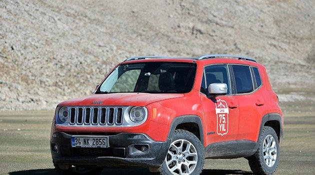 Jeep'ten Renegade'e özel şimdi al, seneye öde kampanyası