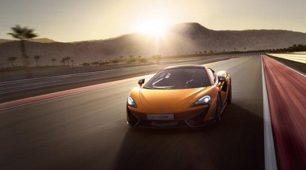 McLaren 570S Coupe New York Otomobil Fuarı'na Yetişti
