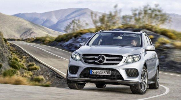 Mercedes-Benz GLE Resmen Sahnede