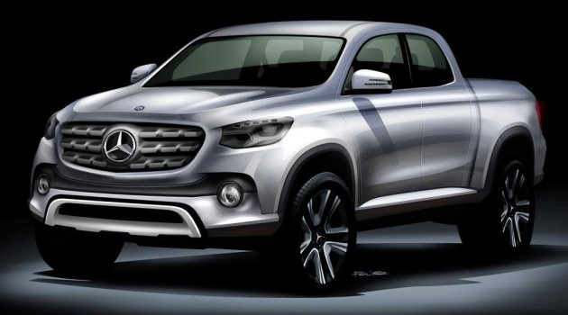 Mercedes-Benz Pickup Gün Yüzüne Çıktı