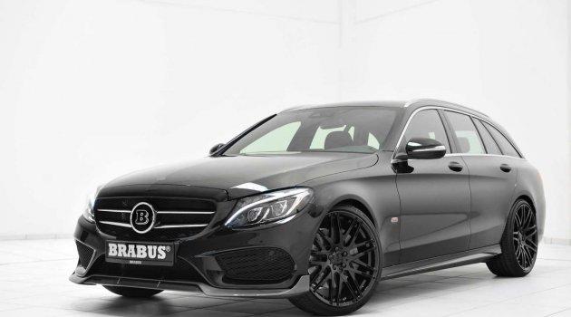 Mercedes C Estate Brabus Dokunuşu