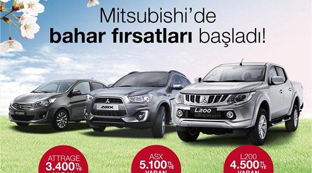 Mitsubishi'den bahar fırsatları
