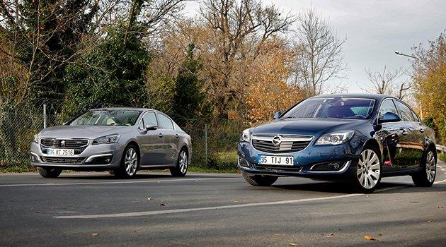 Opel Insignia 1.6 CDTi Otm. – Peugeot 508 1.6 BlueHDi EAT6