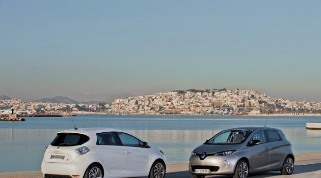 Renault Zoe'nin Menzili Artırıldı